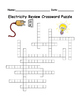 Electricity Review Crossword Puzzle