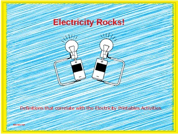 Electricity Rocks! Definitions
