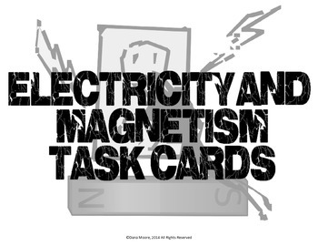 Electricity SCOOT / Task Cards