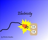 Electricity SMART board Lesson - 20 pg. Instructional Lesson
