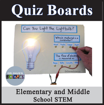 Electricity STEM Activity: Quiz Boards