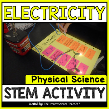 Electricity STEM Challenge (Build a GAME using CIRCUITS)