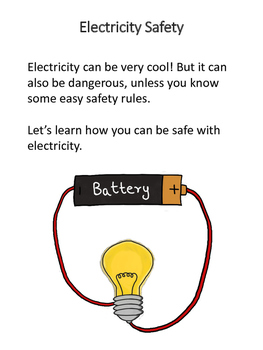 Electricity Safety Activities for Autism and Special Needs