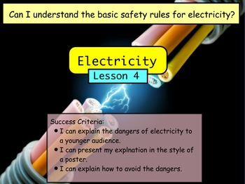 Electricity - Safety Lesson (Lesson 4 of 10)