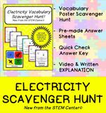 Electricity Scavenger Hunt Game