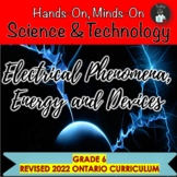 ONTARIO GRADE 6 SCIENCE: ELECTRICITY