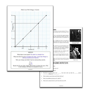 Science Literacy Electricity Sub Plan