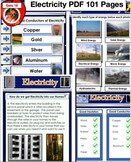 Electricity Science PDF File 101 Pages - No Prep necessary, just print and go!
