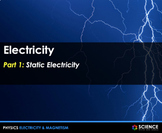 PPT - Electricity - Static & Current + Student Notes - Dis
