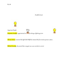 Electricity Study Guide, ESL
