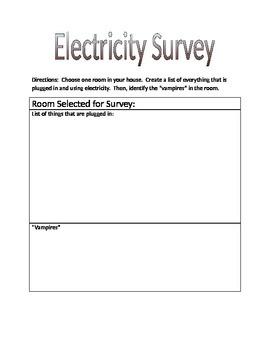 Electricity Survey