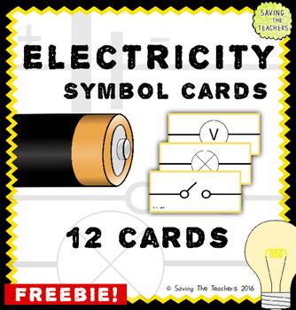 Electricity Symbol Cards