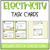 Electricity Task Cards {Now includes GOOGLE version]
