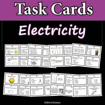 Electricity Task Cards