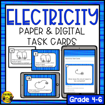 Electricity- Task Cards