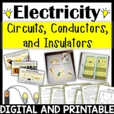 Electricity Unit- Circuits Series, Parallel, Open, Closed, Conductor, Insulator
