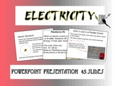 Electricity Notes PowerPoint Presentation