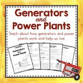 Electricity Unit Study: Generators and Power Plants