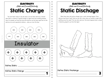 Electricity Unit Study: Static and Current Electricity
