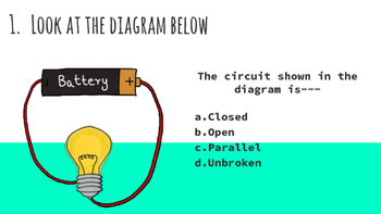 Electricity Unit Task Cards