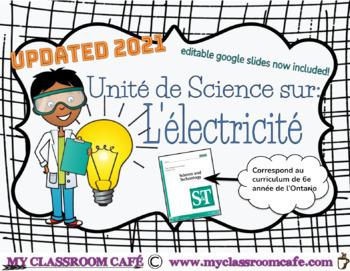 Electricity Unit in French (Unité L'Électricité)