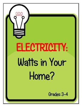 Electricity: Watts in Your Home Lesson Plan