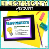 Electricity Web Search Internet Activity