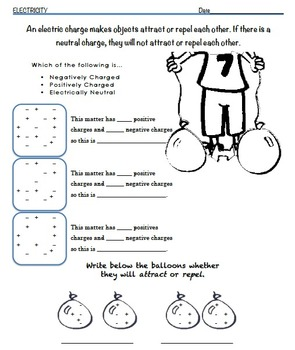Electricity Workbook 3rd-5th