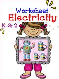 Electricity Worksheet for K-G.2