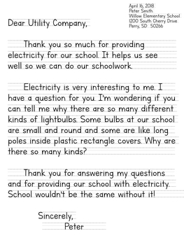 Electricity Writing Prompts