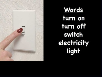 Electricity Writing Prompts FlipChart