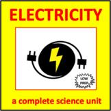 Electricity - a complete science unit