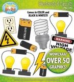Electricity and Circuits Clipart {Zip-A-Dee-Doo-Dah Designs}