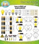 Electricity and Circuits Clip Art Set — Over 50 Graphics!