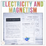 Electricity and Magnetism Worksheets and Activities