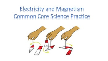 Electricity and Magnetism Common Core Science Practice