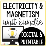 Electricity and Magnetism: Printable and Digital for use with Google Classroom™