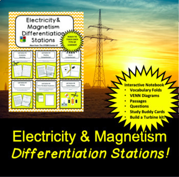 Electricity and Magnetism Differentiation Station