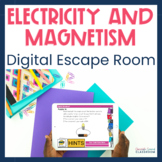 Electricity and Magnetism Digital Escape Room Distance Learning