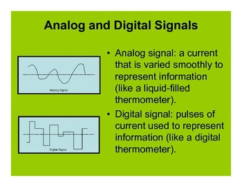 Electricity and Magnetism: Electronic Signals and Semiconductors PowerPoint