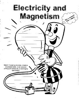 Electricity and Magnetism Guided Reading Packet