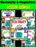 Electricity and Magnetism Lesson Bundle- Physical Science (Notes & Presentation)