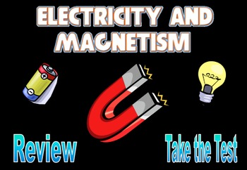 Electricity And Magnetism Powerpoint Worksheets & Teaching Resources