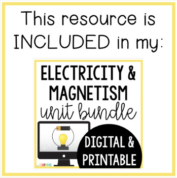 Electricity and Magnetism SCOOT and Task Cards