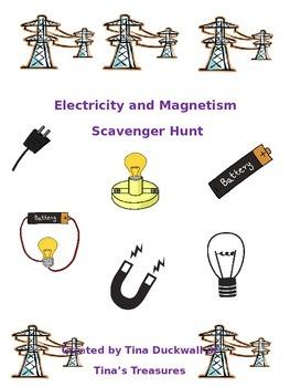 Electricity and Magnetism Scavenger Hunt