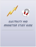 Electricity and Magnetism Study guide