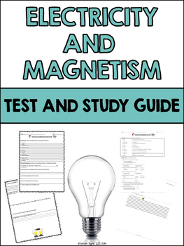 Electricity and Magnetism Test and Study Guide