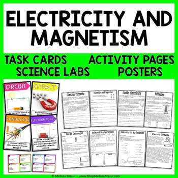 Electricity and Magnetism Science Unit - Reading Passages,