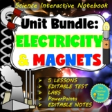 Electricity and Magnetism Notebook Bundle | Middle School Science