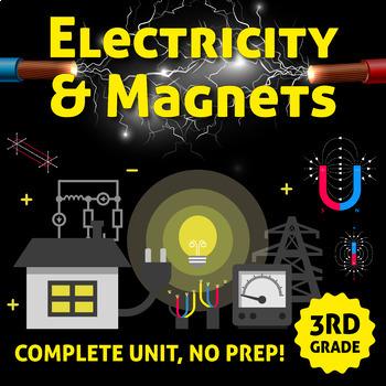 Electricity and Magnetism Unit - COMPLETE UNIT NO PREP!